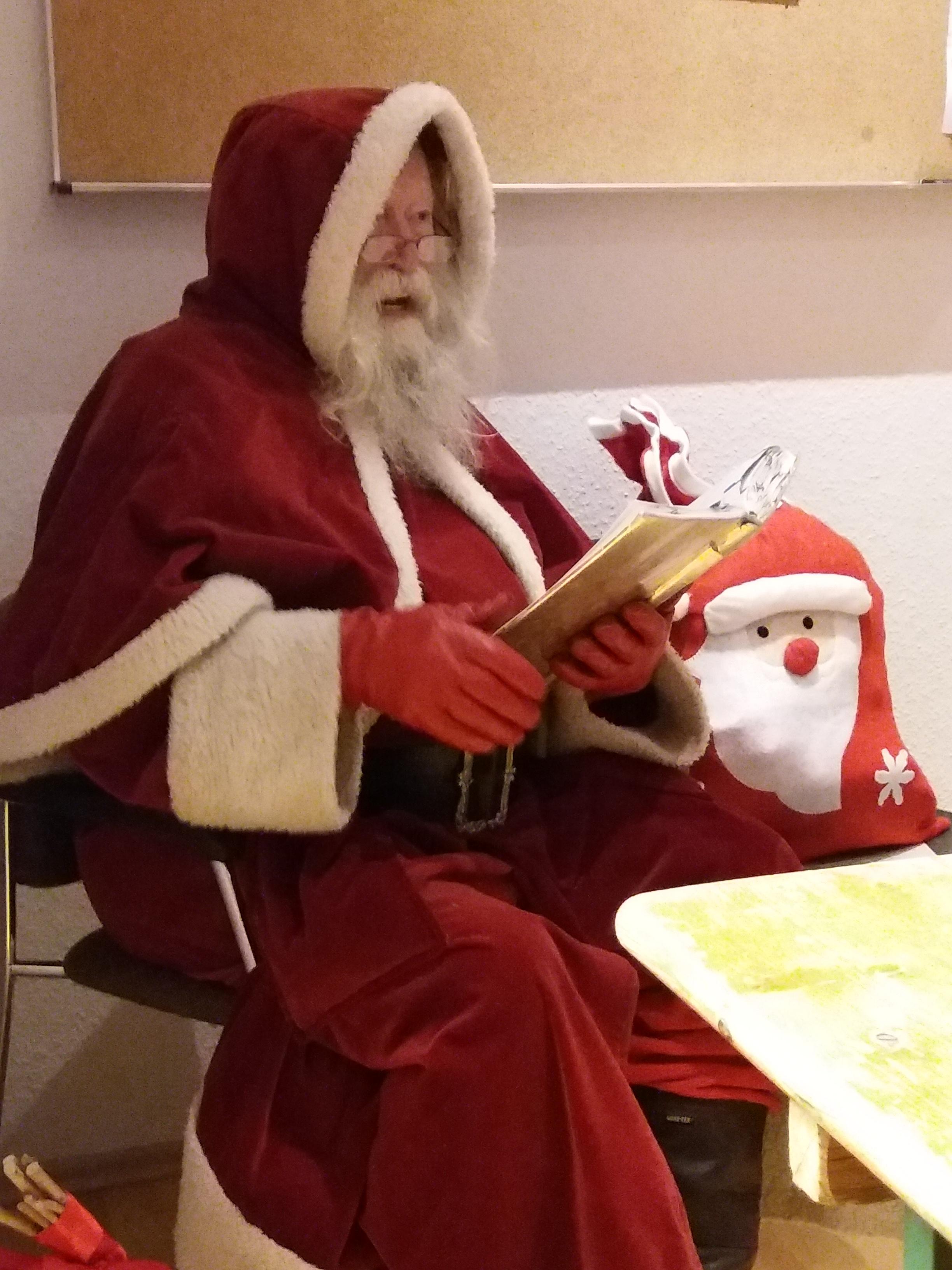 Weihnachtsfeier der Kleinsten im Oyama Karate Kai e.V.